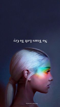 Ariana Grande-No Tears Left To Cry Wallpaper