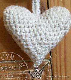 Heart Fob Crochet Pattern – Crochet