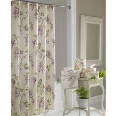 Purple Wisteria Shower Curtain