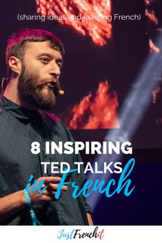 TED talks are great, right? Why not combining your French learning and watching TED Talks? I mean, there& TED Talks in French. French Learning Books, French Language Learning, Teaching French, Learning Spanish, Spanish Class, Spanish Notes, Funny Spanish, Learning Italian, German Language