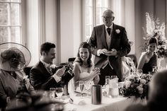Wedding speeches at Hodsock Priory