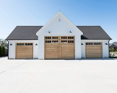 Pics of Interior Garage Shops as Well as Exterior. Pics of Interior Garage Shops as Well as Exterior. Garage House, Garage Gym, Plan Garage, Pole Barn Garage, Garage Exterior, Pole Barn Homes, Garage Doors, Detached Garage Designs, Garage Door Design
