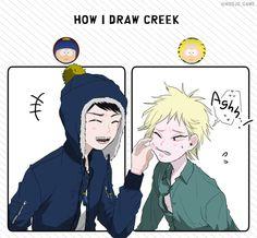 Creek ▪ Craig x Tweek ▪ South park