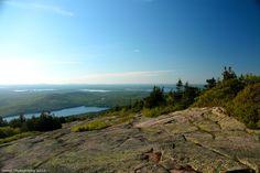 Acadia National Park, Cadillac Mountain. Bar Harbor, Maine