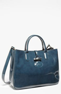 I got this!!!! Longchamp 'Roseau Box - Medium' Tote available at #Nordstrom