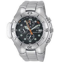 Montre Citizen Aqualand Promaster, modèle pour les pros de la plongée, fonction chronomètre.