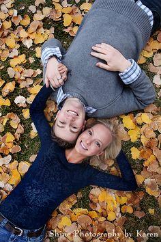 I would love a family photo in the fall leaves!