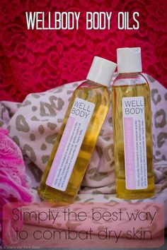 Get rid of that dry winter skin with body oils form WellBody. Plus check out the exclusive interview with the founder. #cleanbeauty #organicskincare