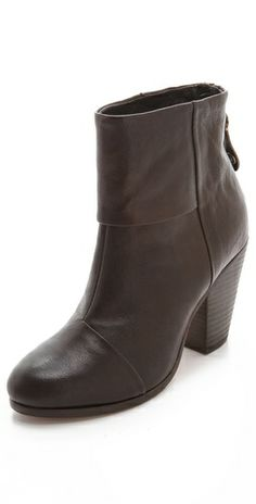 Everyone at Fashionista has their favorite style of black booties--these are Cheryl's.
