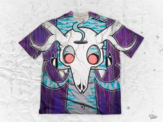 "84 Pages ""Antlers"" Men's Crew Neck T-Shirt Part of the 84 Pages x Pulse Of Prophets Artist Series This piece is printed exclusively for you on high quality 100 Various Artists, Antlers, Vibrant Colors, Finding Yourself, Crew Neck, Prints, Artwork, Mens Tops, Horns"