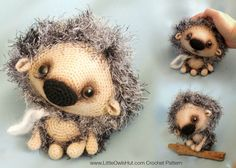 Ravelry: 098 Hedgehog Kuka Pertseva pattern by LittleOwlsHut