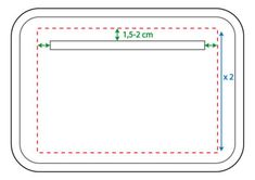 Jak narysować worek kieszeni, szycie kieszeni z zamkiem Plastic Cutting Board