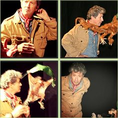 """Charles Shaughnessy as Alistair A. Kinglake and his Flying Monkeys in Fiji and Australia to film """"Snark"""", a new spoof on nature documentaries. Watch it now! http://worldofsnark.com/  #flyingmonkeys #spoof #unicorns @World of Snark"""
