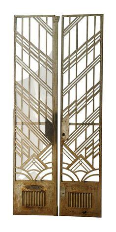 1920s Grand Entrance Doors