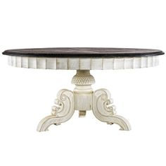 Belham Living Spencer Round Pedestal Dining Table   Black   THAN006 1 |  Products, Round Pedestal Dining Table And Rounds