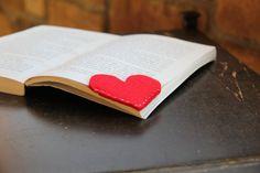 Handmade Page bookmarks
