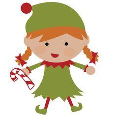 christmas elves | Elf SVG file for scrapbooking cute christmas elf svg cut christmas ...