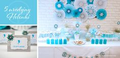 Frozen party from My Lovely Event