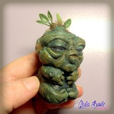 Baby Mandrake resin sculpture inspired by Harry Potter by Giuliart
