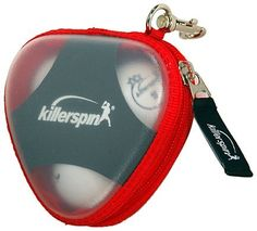 Killerspin 605-61 Champion Table Tennis Ball Case by Killerspin. $16.45. The Killerspin 605-61 Champion Table Tennis Ball Case hold up to three Champion style balls. The bag features a clip so it can be attached to your other Killerspin table tennis accessories. The product comes with a 30-day limited warranty. Table tennis is a sport that can be enjoyed by individuals of any age and physical ability. Playing table tennis is a great way to stimulate the brain and promote q...