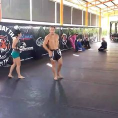 Head movement with striking coach Brad Riddell and Mallory Martin preparing for her Invicta fight next weekend www.tigermuaythai.com #tigermuaythai #muaythai #kickboxing #mma #bjj #fitness #martialarts #boxing #wrestling #travel #phuket #thailand
