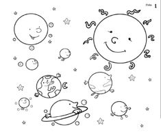 Fichas sobre el Sistema Solar | laclasedeptdemontse Snoopy, 1, Character, Geography, Planets In Solar System, Note Cards, Blue Prints, Lettering