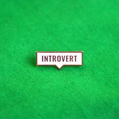 If you really need to make those introverts shut up, open a bit ur thought. @wkwkwk.in #introvert #enamel #enamelpin #lapelpin