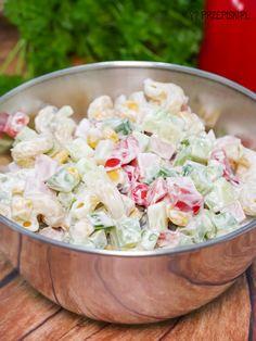 Tzatziki, Vinaigrette, Lchf, Pasta Salad, Potato Salad, Grilling, Food And Drink, Healthy Recipes, Vegetables