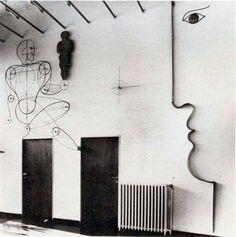 The School of Bauhaus/ Oskar Schlemmer, wall decoration 1930