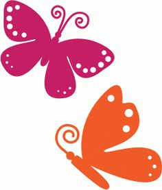 ~~pinned from site directly~~ . . .  Silhouette Design Store - View Design #62393: butterflies