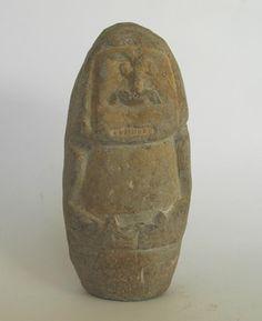 pre columbian stone idol