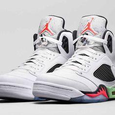 air-jordan-5-pro-stars-poison-green Nike Air Jordan 371b3d1b0