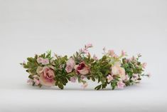 Silk touch light pink cabbage rose flower crown for weddings,Brides, bridesmaid Flower Headbands, Flower Crowns, Silk Touch, Cabbage Roses, Bridal Accessories, Wedding Bride, Bridesmaid, Weddings, Flowers