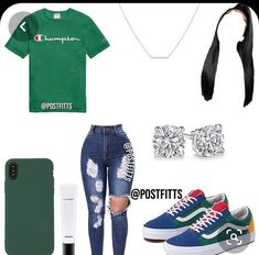 Swag Outfits For Girls, Cute Teen Outfits, Teenage Girl Outfits, Cute Comfy Outfits, Teen Fashion Outfits, Dope Outfits, Stylish Outfits, School Outfits, Freshman Outfits