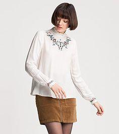 Bluse in der Farbe cremeweiß bei C&A