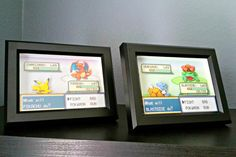 CUSTOMIZABLE Pokemon Fire Red/Leaf Green Battle by Decor8bitArt