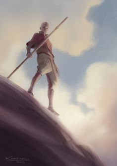Bryan Konietzko: This is an update of sorts, based on a little concept I did almost exactly 10 years ago. I worked on it a few minutes at the end of each day this week. *Trying* to get better at digital painting. Hope you guys enjoy it. Have a great weekend!