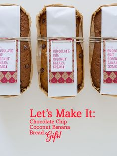 Let's Make It: Chocolate Chip Coconut Banana Bread