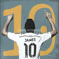 James Rodriguez Colombia Real Madrid Soccer.Fútbol.Football. / 12x12 V.I on Behance