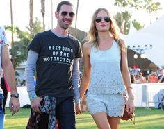 Kate Bosworth looking dainty and sweet in an eyelet trimmed ensemble.