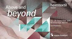 HEIMTEXTIL RUSSIA. 23 - 25 settembre 2015 al Crocus Expo International Exhibition Center a Mosca. La Fiera Internazionale della Biancheria per la casa ospita la sua 17esima edizione. #tessuti #interiordesign #tendaggi #textile #textiles #fabric #homedecor #homedesign #hometextile #decoration #ctasrl Visita il nostro sito www.ctasrl.com e scarica le nostre brochure su: http://bit.ly/1nhrLQM