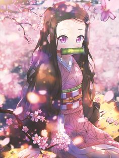 Nezuko -- Kimetsu no Yaiba by DinocoZero on DeviantArt Chica Anime Manga, Anime Neko, Kawaii Anime Girl, Otaku Anime, Anime Art Girl, Manga Girl, Katsura Kotonoha, Animes Yandere, Manga Dragon