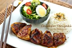 """Chicken Teriyaki from """"Just One Cookbook""""  (Cooked stovetop - not the oven as I usually do.)"""