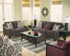 Awe-inspiring Gray Couch Velvet Modern Living Sets As Well As Black Coffee Table Storage On Gray Rugs Feat Fake Oak Floors Decors Ideas