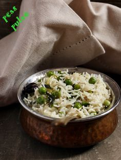 {New post}. Peas pulao recipe!  Quick, easy to make peas pulao with subtle flavors. Delicately spiced pulao with sweet tones from fresh green peas.  Recipe @ http://cookclickndevour.com/peas-pulao-recipe-how-to-make  #cookclickndevour #vegan #recipeoftheday #rice #peaspulao #peasrecipes #indianfoodrecipes