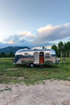 Stunning Restored 1954 Airstream Flying Cloud Travel Trailer; I'd love to get one of these someday and just drive all over the country