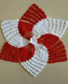 Crochet Creative Ideas For Your Home - Diy Home Decor Mode Crochet, Crochet Diy, Crochet Home, Crochet Motif, Crochet Doilies, Crochet Stitches, Crochet Bunny, Christmas Crochet Patterns, Holiday Crochet