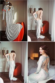 AMAZING dress and gorgeous hair and makeup!