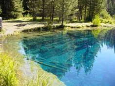Just outside Portlad, OR The Timothy Lake Loop is a mostly flat, 12-mile stroll around the Lake with breathtaking views of Mt. Hood and beautiful forests. Be sure to get a look at Little Crater Lake, a small artesian pool near the trailhead.