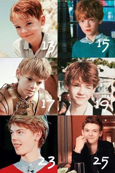 Thomas Brodie Sangster>I think I´ll never understand how he looks exactly the same after all this time